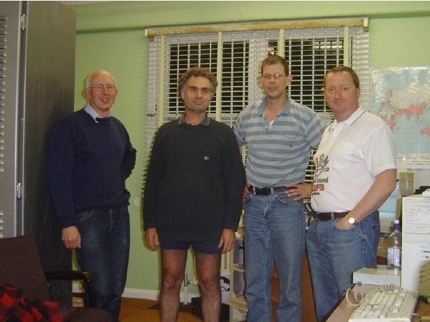 2006 ZL6QH mm team that won Oceania DX CW